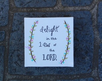 Slightly Imperfect Bible Verse Painting