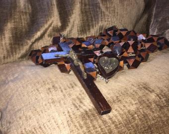 Vintage 1975 Fatima Wall Rosary