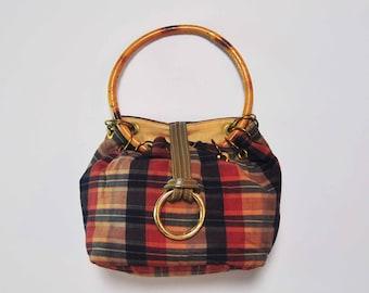 madras and BAMBOO small bag