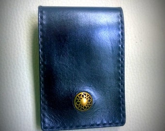 Leather cardholder, leather wallet