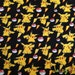 Pikachu Pokèmon fleece-backed sweatshirting knit fabric
