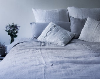 Linen duvet cover – linen quilt cover – linen cover – stonewashed linen – bed linen – bedroom linen – comforter cover – linen gift - natural