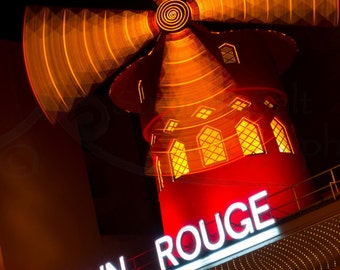 Moulin Rouge Photograph Art Print