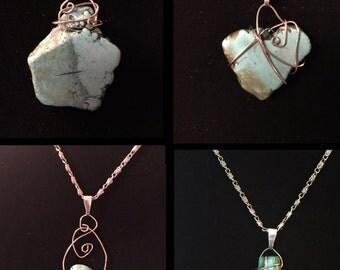 Turquoise Pendant Necklaces
