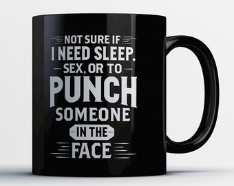 Boxing Gift - MMA Mug - Boxers Coffee Cup - Funny Mixed Martial Arts Gift