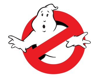 Ghost Busters T shirt Iron on Transfer  8x8 5x5 3x3