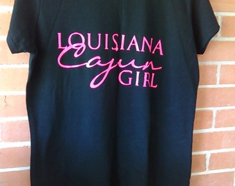 Louisiana Cajun Girl T Shirt