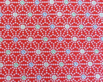 4 sheets A4 Red Japan Yuzen Chiyogami Washi Origami Papers 177