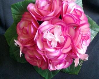 Handmade Paper Flower Bouquet/Posie