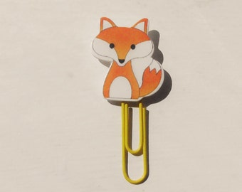Fox Paperclip Red/Orange