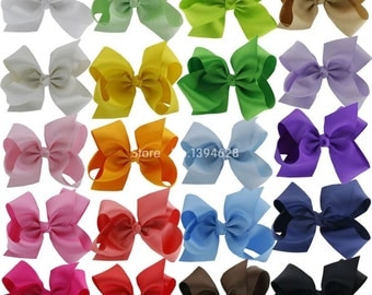 "Hairbows 6"" Set of 20"