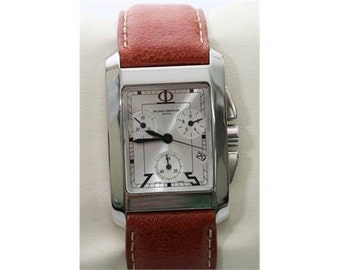 Men's Stainless Steel Baume & Mercier Milleis 8445 XL Chronograph Watch slightly used
