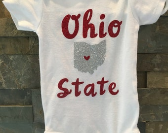 Ohio state onesie