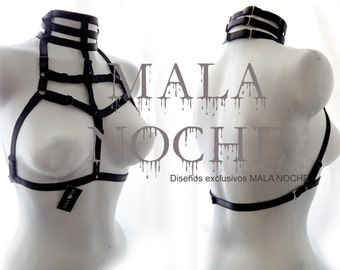 Harness Choker, choker BDSM, body harness, Bdsm harness, Bondage bra harness, bdsm, burlesque lingerie