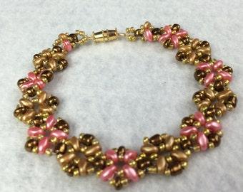 Vintage Flower Bracelet