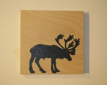 Caribou wooden frame