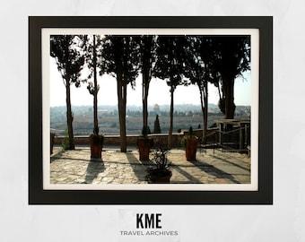 Mount of Olives, Israel: Print 007
