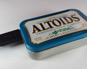 USB Power Bank in an Altoids Tin - AA Battery Phone Charger