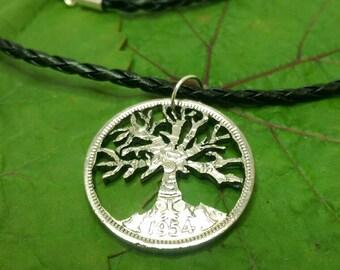 Tree of life unique pendant necklace