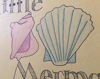 Little mermaid Print
