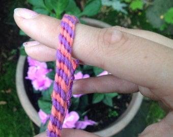 Half Chevron Friendship Bracelet (2 colors)