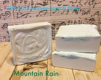 Mountain Rain Homemade Soap