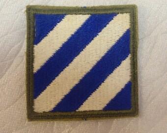 "WW2 U.S. 3rd ""Marne"" Infantry Division Insignia * usp367"