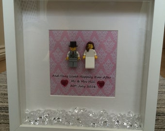 Lego Wedding Frame