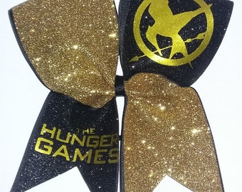 Cheerleading Bows - Hunger Game - Mickey and Minnie Mouse - Hello Kitty - Inside Out - Thinker Bell