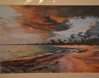 Evening in Paradise print by Doug Brown