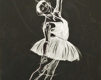 White Flower/Ballerina