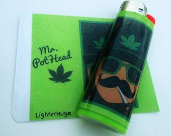 LighterHugz Mr. PotHead Lighter Decal