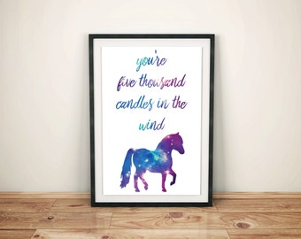 Parks and recreation, Lil' Sebastian, Wall Art, Printable Poster, 11x14""