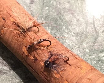 Fly fishing-Variety (3) pack Dry flies