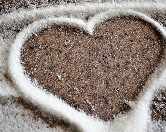 Sugary heart