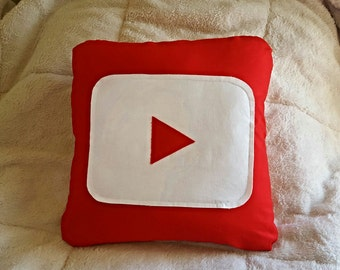 Youtube Toss Pillow