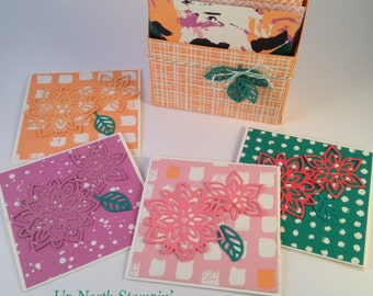 Four Notecards and Gift Box