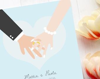Graphics for Custom Wedding Suite • Digital File •