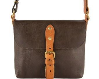 Tammy Brown Leather Shoulder Bag