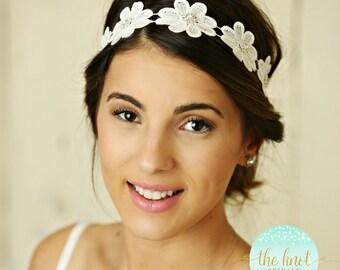 Bridal Headband, Bridal Head Piece, Rhinestone Headband, Wedding Headband, Bridal Hair Piece, Bridal Headpiece, Rhinestone