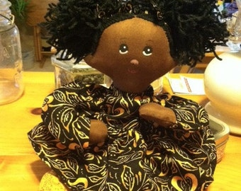 Piper Handmade Cloth Angel Doll