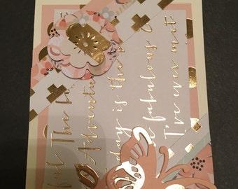 Handmade Greeting cards(3 card assortment)
