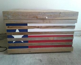 Texas storage trunk or coffee table