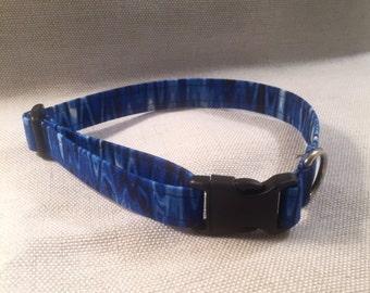 Blue Wave Dog Collar