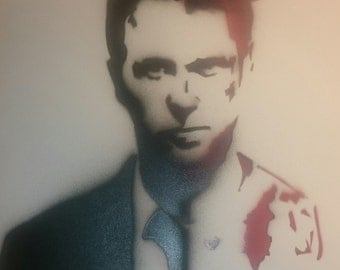 Fight Club Stencil Art