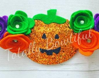 Halloween flower crown