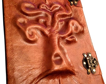 Tree Leather Sketchbook