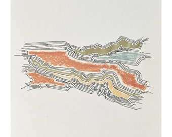 topographic drawing no.2