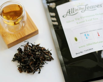 Silver Tip Formosan Oolong Loose Leaf Tea