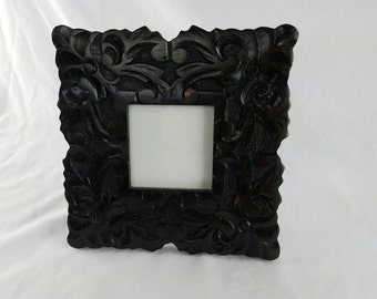 Vintage Wood Picture Frame 3x3